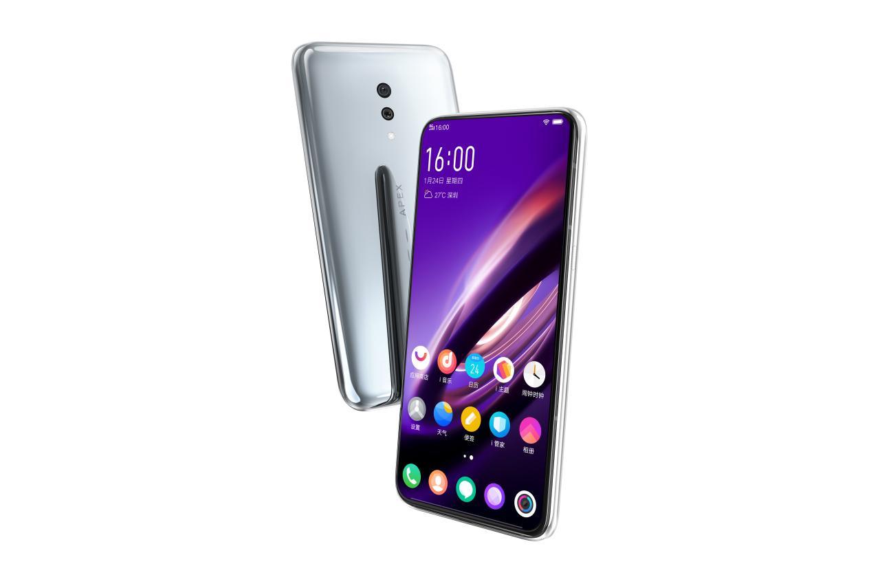 Vivo Apex 2019 to kolejny projekt smartfona pozbawionego przycisków fizycznych i jakichkolwiek portów 23