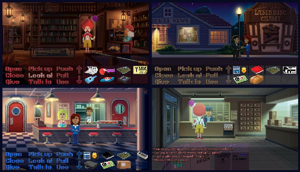 Fenomenalne Thimbleweed Park przez ograniczony czas za darmo w Epic Game Store!