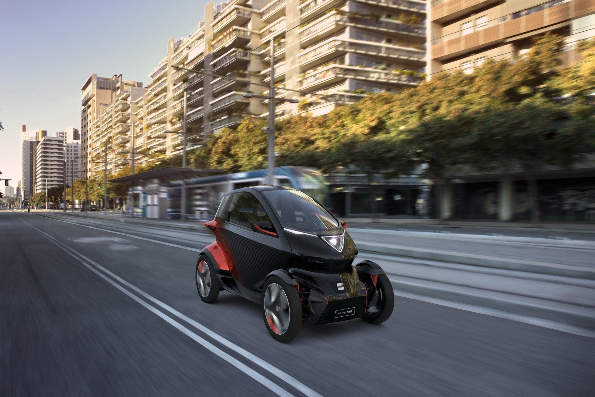 Połączenie auta i motocykla według Seata - oto Minimó