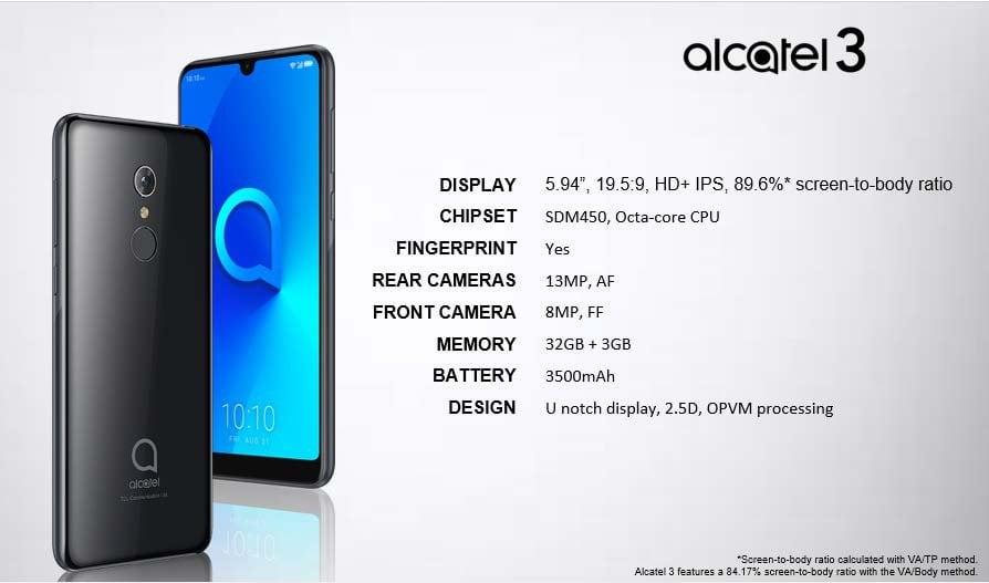 Tabletowo.pl No nieźle: do sieci wyciekły rendery i specyfikacje aż sześciu nowych smartfonów Alcatela Alcatel Android Plotki / Przecieki Smartfony