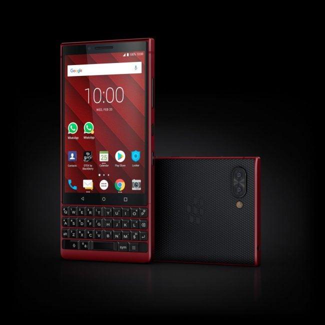 BlackBerry KEY2 będzie dostępny w nowym, czerwonym kolorze
