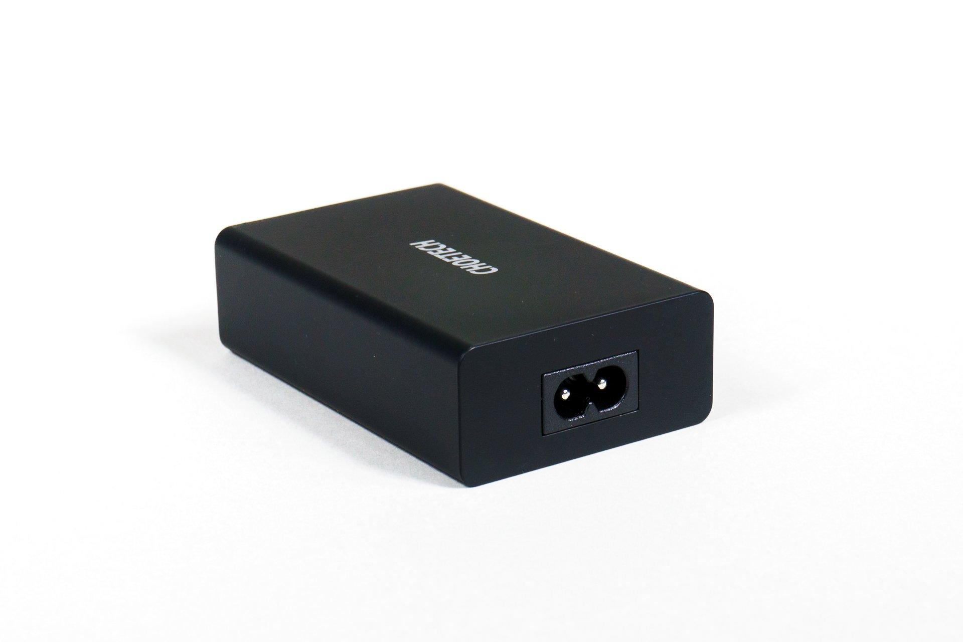 Choetech Q3-4U2Q - pięcioportowa ładowarka sieciowa USB z QC 3.0 i Power Delivery (recenzja)