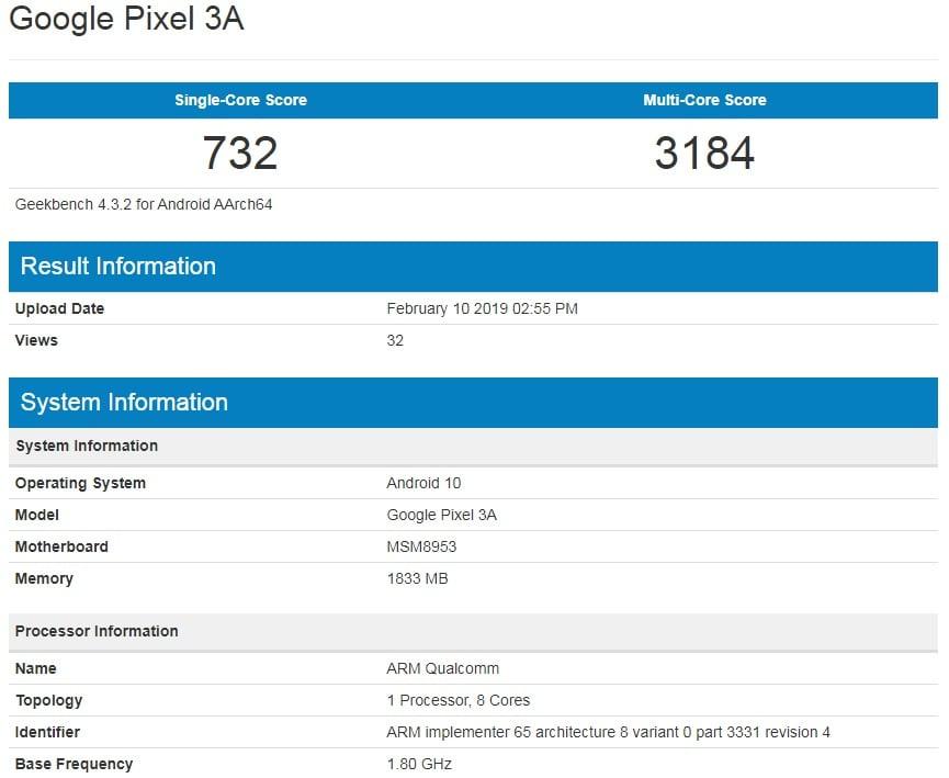 """""""Budżetowy"""" Google Pixel 3A ze Snapdragonem 625? To teoretycznie mógłby być hit, ale nie będzie 19"""