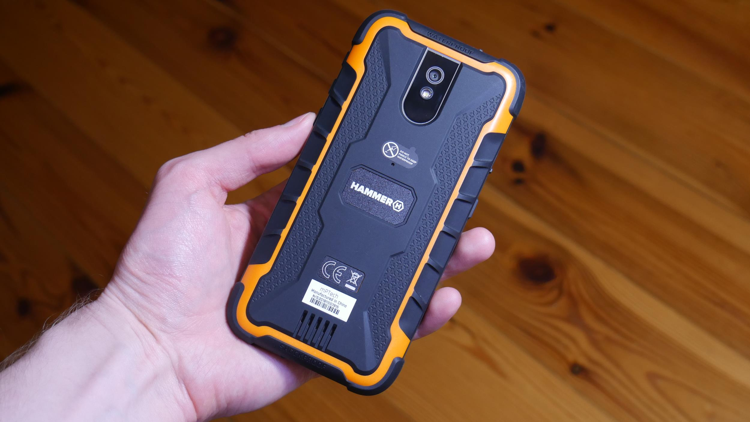 Test Hammer Active 2 LTE - smartfona z wytrzymałą obudową i Androidem Go 17