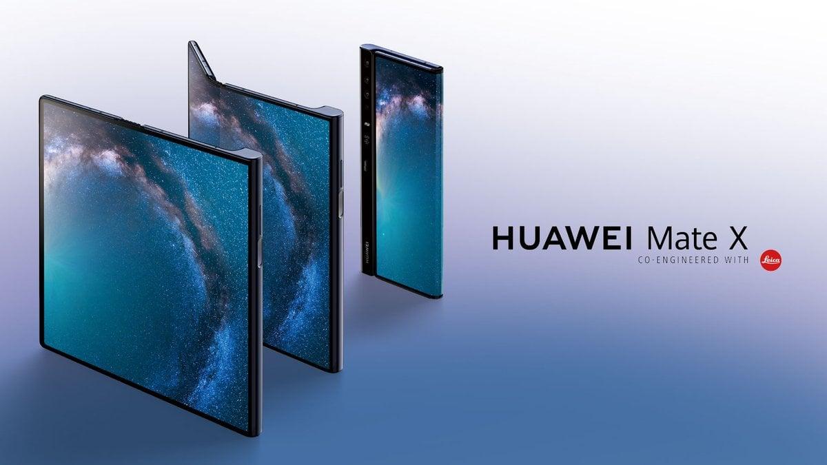smartfon Huawei Mate X