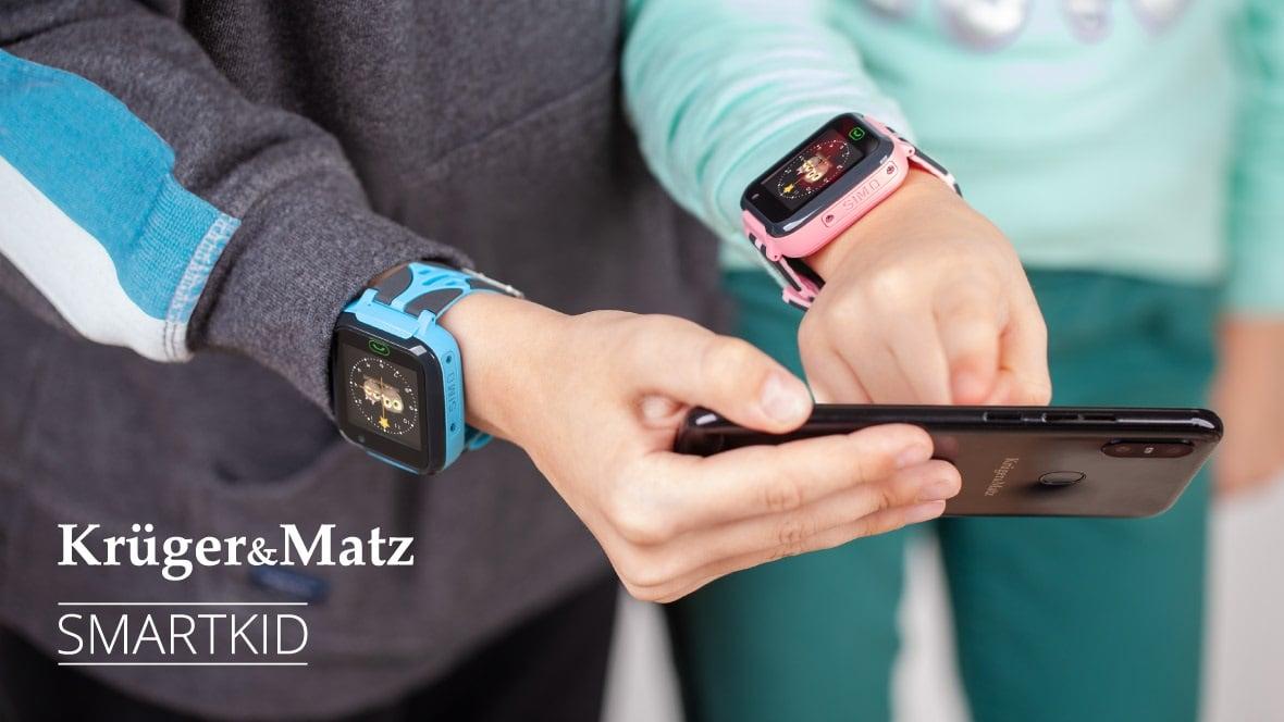 Kruger&Matz wprowadza na polski rynek zegarek SmartKid z modułem GPS dla dzieci