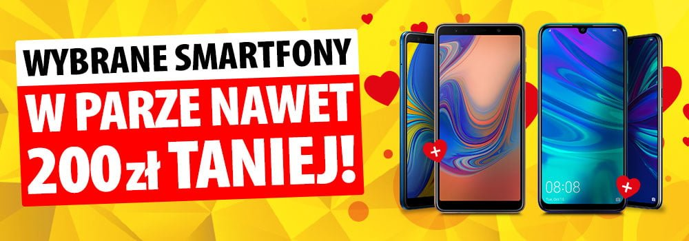 Promocja na Walentynki: kup dwa smartfony Huawei lub Samsunga, a zapłacisz nawet 200 złotych mniej 21