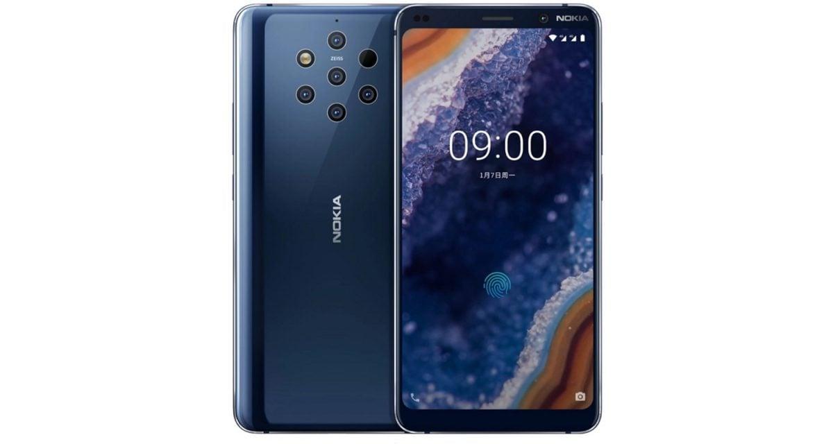 Nokia 9 PureView - z pięcioma aparatami