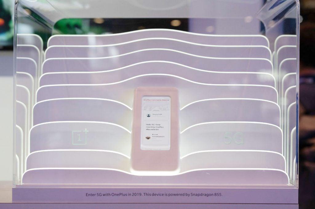 OnePlus rzeczywiście przywiózł na targi Mobile World Congress swój pierwszy smartfon z 5G