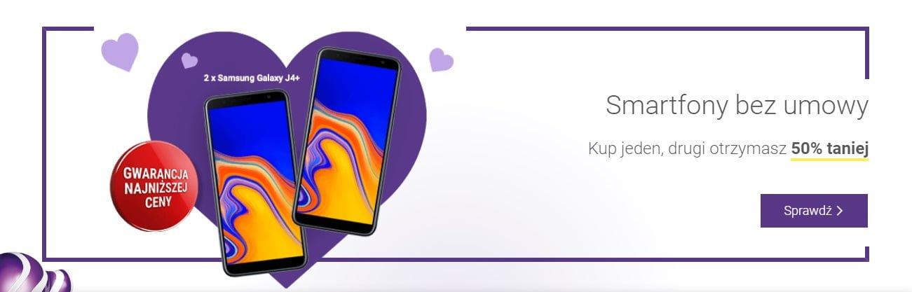 Tabletowo.pl Promocja: drugi taki sam smartfon za pół ceny w Play bez umowy. Do wyboru są trzy zestawy Android Lenovo Motorola Nokia Promocje Smartfony
