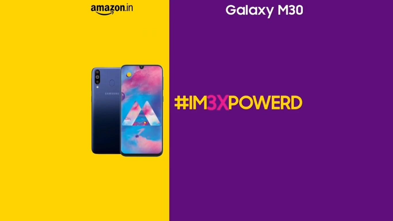 Samsung Galaxy M30s zaskoczy nas swoim wyglądem