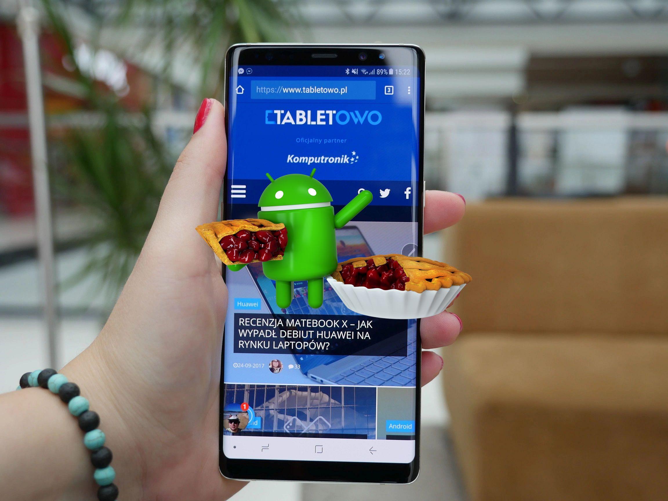 Samsung zaktualizował listę urządzeń, które dostaną Androida Pie. Galaxy Note 8 już go ma 25