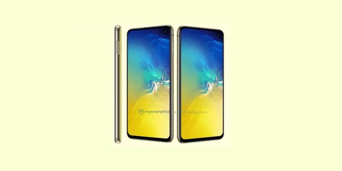 Tabletowo.pl Tak wygląda kanarkowy Samsung Galaxy S10e. Droższe Galaxy S10 i Galaxy S10+ nie będą dostępne w takim kolorze Android Plotki / Przecieki Samsung Smartfony