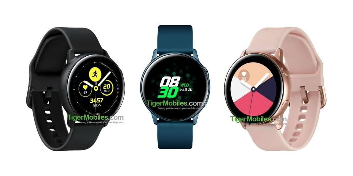 Tabletowo.pl Poznaliśmy specyfikację nowego smartwatcha Samsunga - Galaxy Watch Active Plotki / Przecieki Samsung Tizen Wearable
