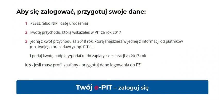 Będą zmiany w systemie e-PIT. Resort finansów uszczelni sposób logowania