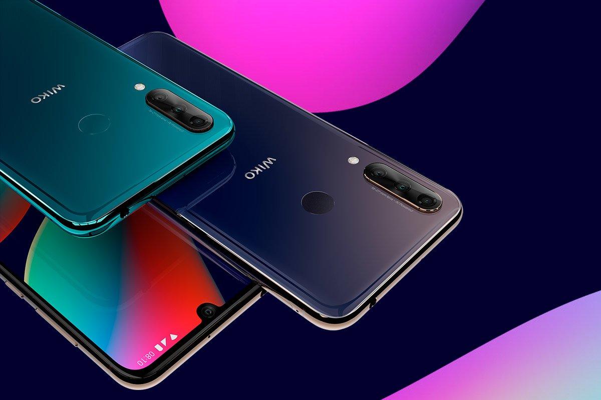 Marka Wiko zaprezentowała na MWC 2019 dwa smartfony z potrójnymi aparatami: View 3 i View 3 Pro 20