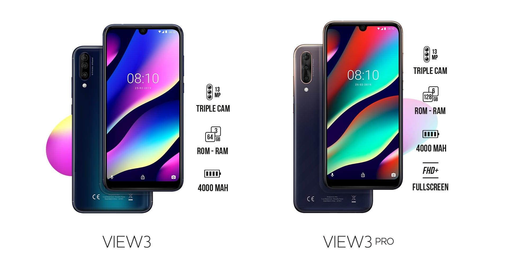 Marka Wiko zaprezentowała na MWC 2019 dwa smartfony z potrójnymi aparatami: View 3 i View 3 Pro 22