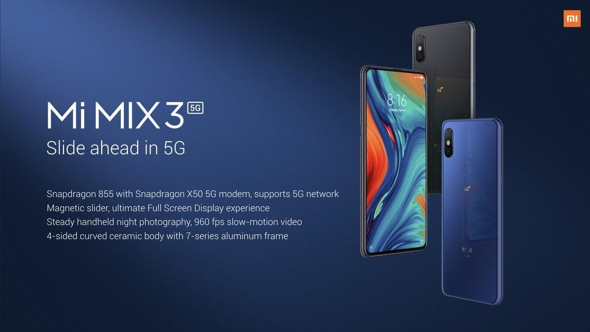 Xiaomi Mi Mix 3 z modemem 5G oficjalnie. Cena (pozytywnie) powala! 21