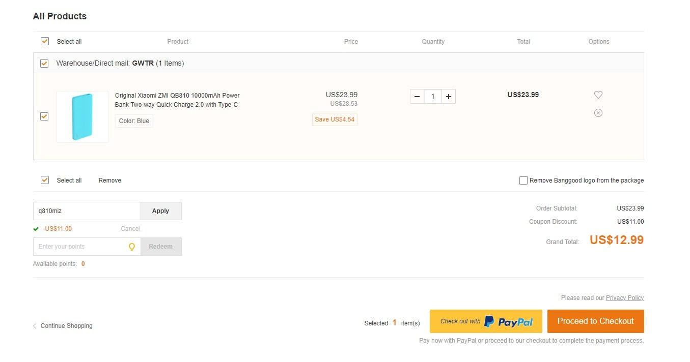 Tabletowo.pl Promocja: power bank Xiaomi ZMI 10000 mAh za jedyne 50 złotych. To naprawdę dobra oferta! Akcesoria Promocje Xiaomi