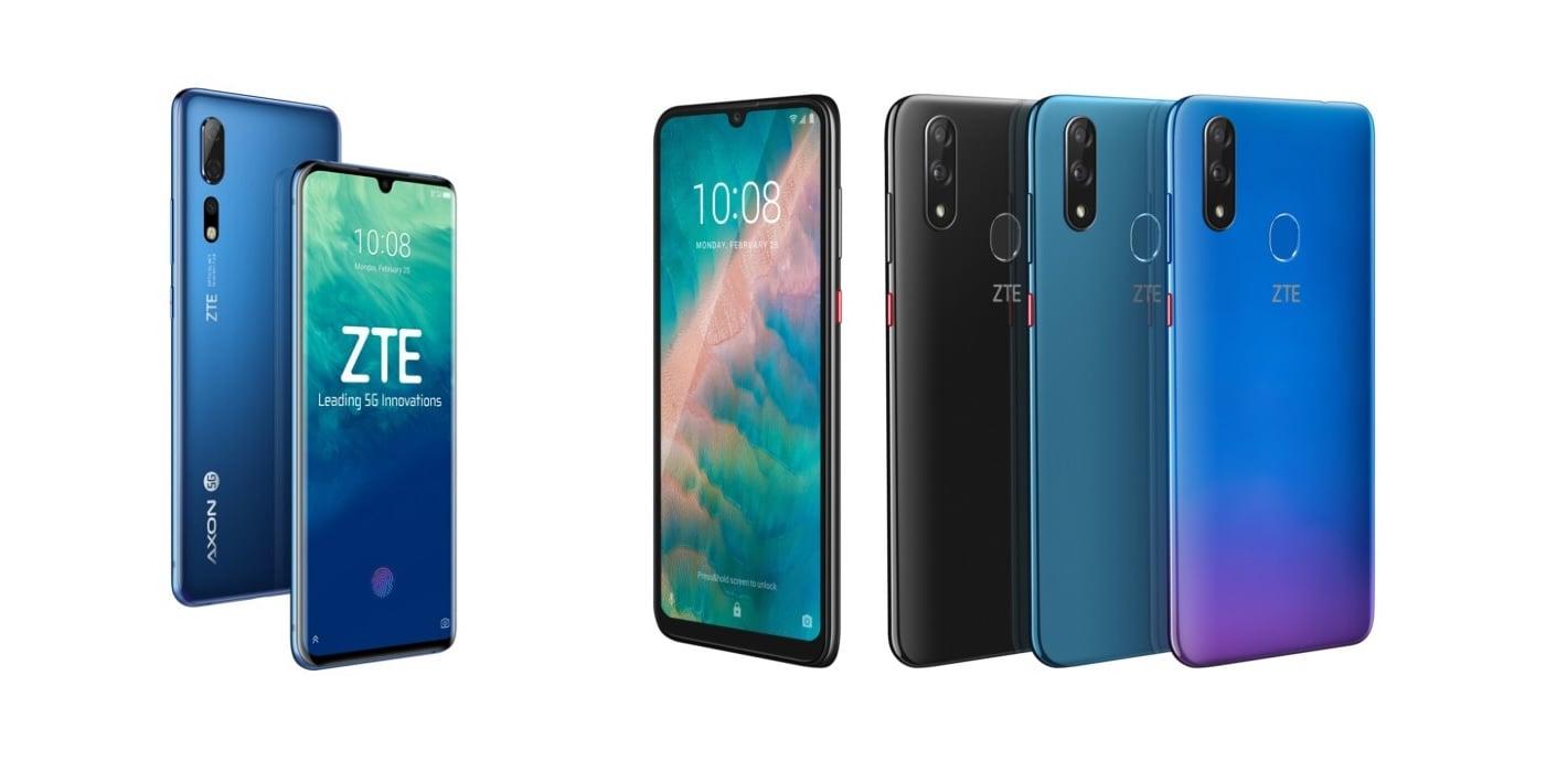 ZTE zaprezentowało dwa smartfony: flagowego Axon 10 Pro 5G i średniaka Blade V10