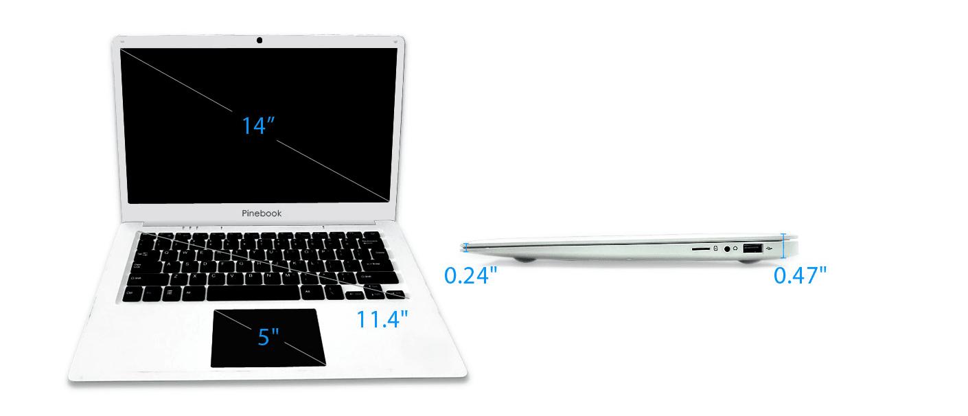 Pinebook Pro może być fajnym i tanim laptopem do używania Linuksa 16
