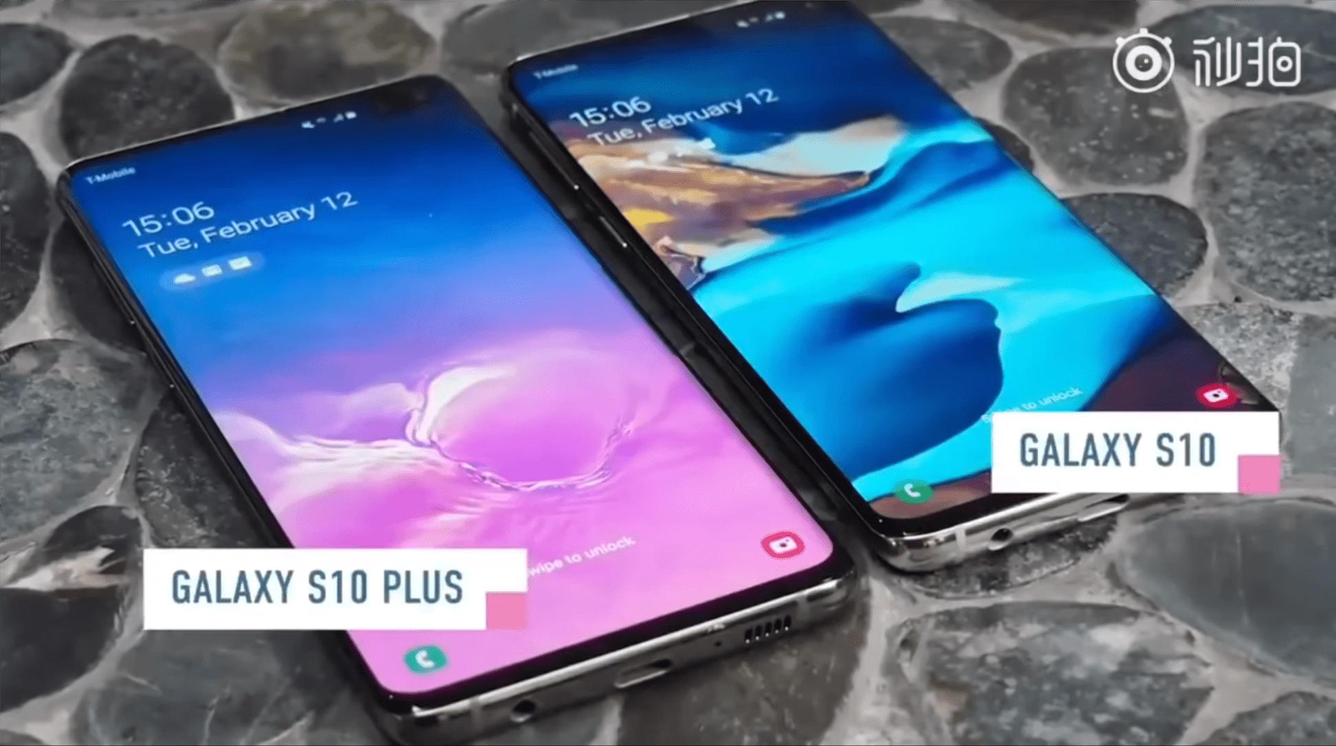 Tabletowo.pl Za ten materiał przedstawiający Samsunga Galaxy S10, ktoś straci pracę albo zyska premię. Flagowiec na filmie Plotki / Przecieki Samsung Smartfony