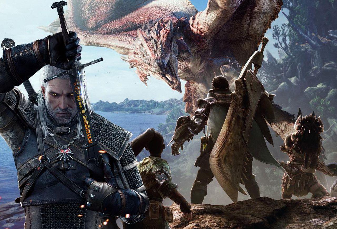 Geralt z Rivii powraca! Monster Hunter World oficjalnie przywitał słynnego Wiedźmina 23