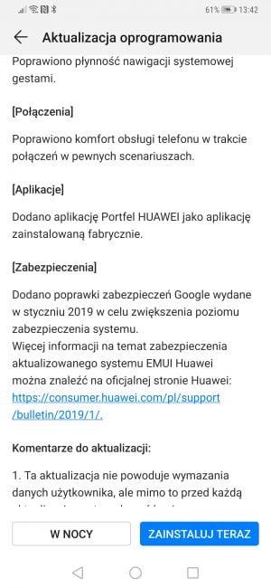 """Tabletowo.pl Huawei pozwoli na dodanie drugiej """"twarzy wzorcowej"""" do odblokowywania Mate 20 Pro Aktualizacje Android Bezpieczeństwo Ciekawostki Huawei Oprogramowanie Smartfony"""