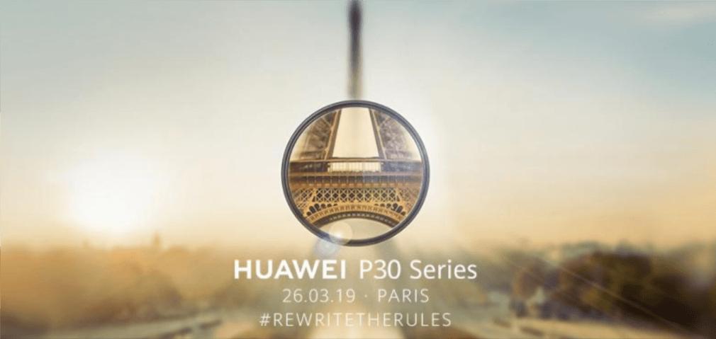 Tabletowo.pl Jest data premiery tegorocznych flagowych smartfonów Huawei. Modele P30 zadebiutują 26 marca w Paryżu Huawei Smartfony