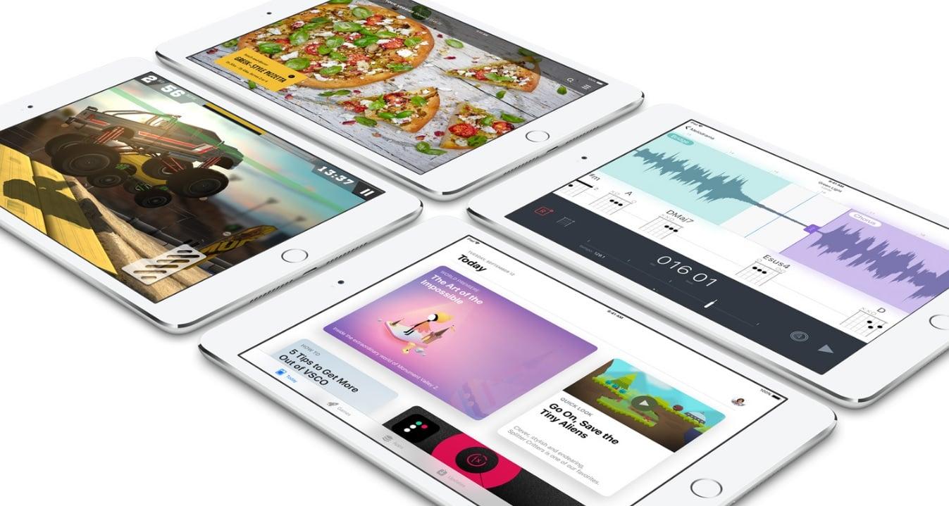 Popatrzcie: to jest iPad Mini 4. I dokładnie tak samo będzie wyglądał też iPad Mini 5