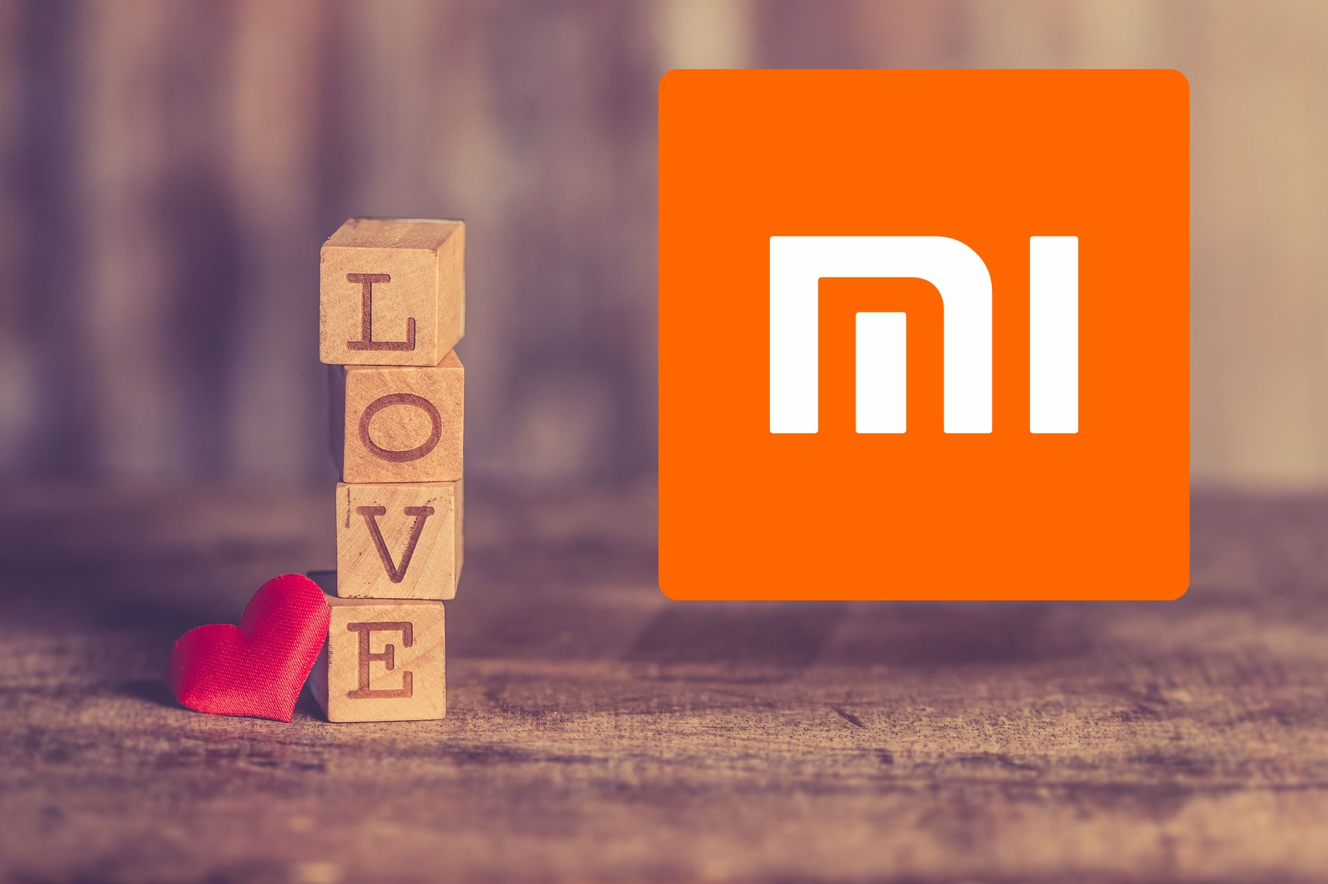 miłość love Xiaomi logo