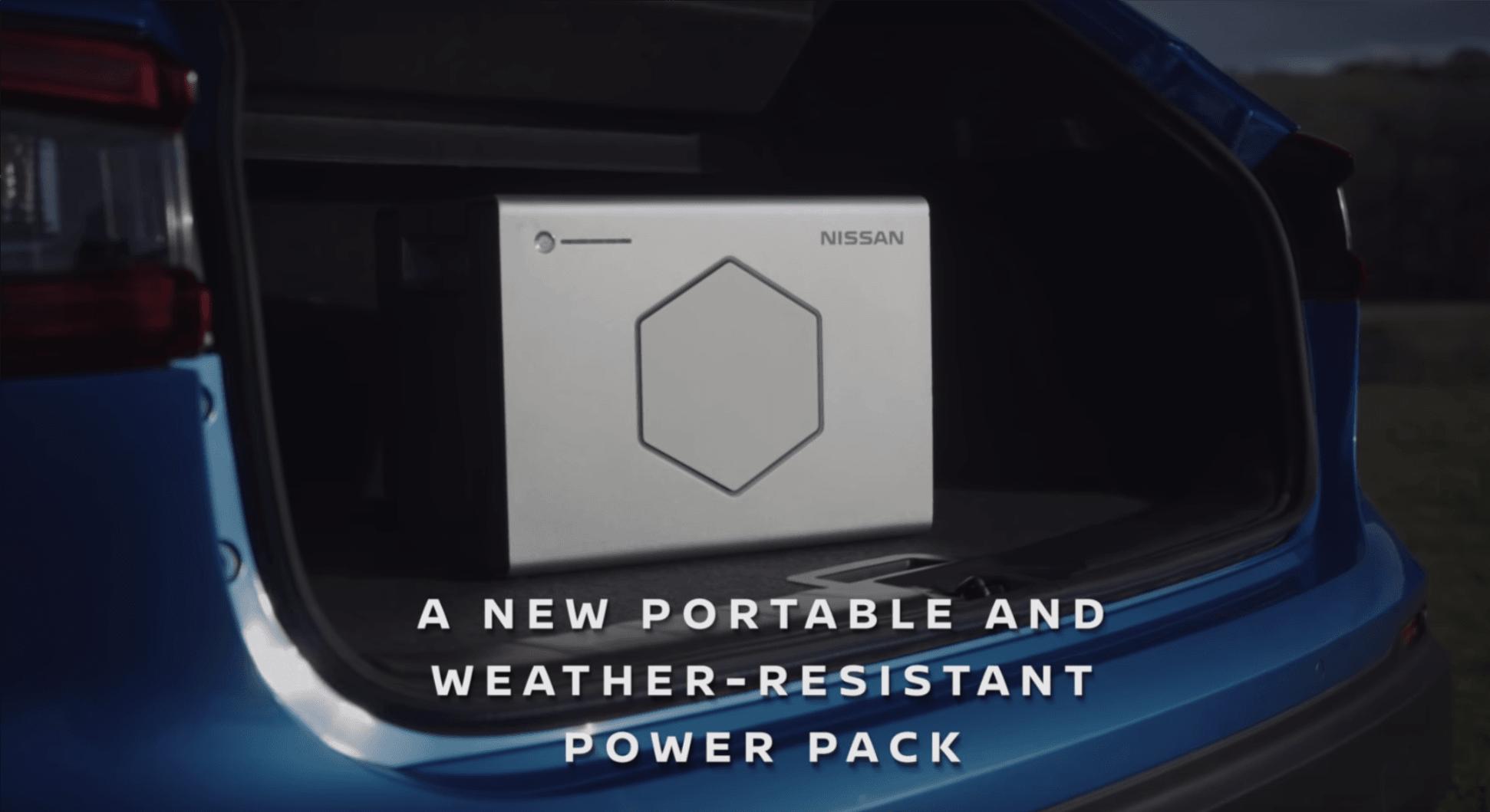 """""""Inteligentna"""" przyczepa kempingowa : Nissan x OPUS ma akumulatory wyjęte wprost z elektrycznego Leafa"""