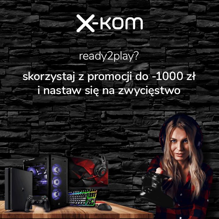 Tabletowo.pl Smartfony i sprzęt dla graczy taniej nawet o 1000 złotych. Macie tydzień na skorzystanie z promocji w x-kom Akcesoria Gaming Promocje Smartfony Sprzęt