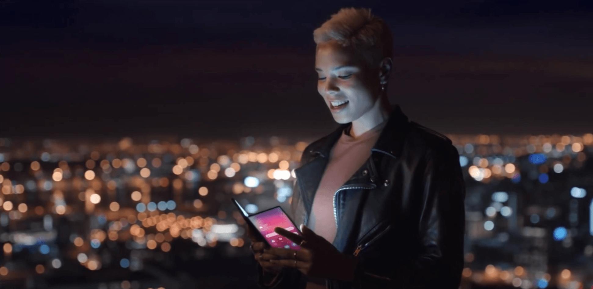 Film, który nie miał prawa przedostać się do sieci: Samsung Galaxy S10 i składany Galaxy F na wideo promocyjnym 21