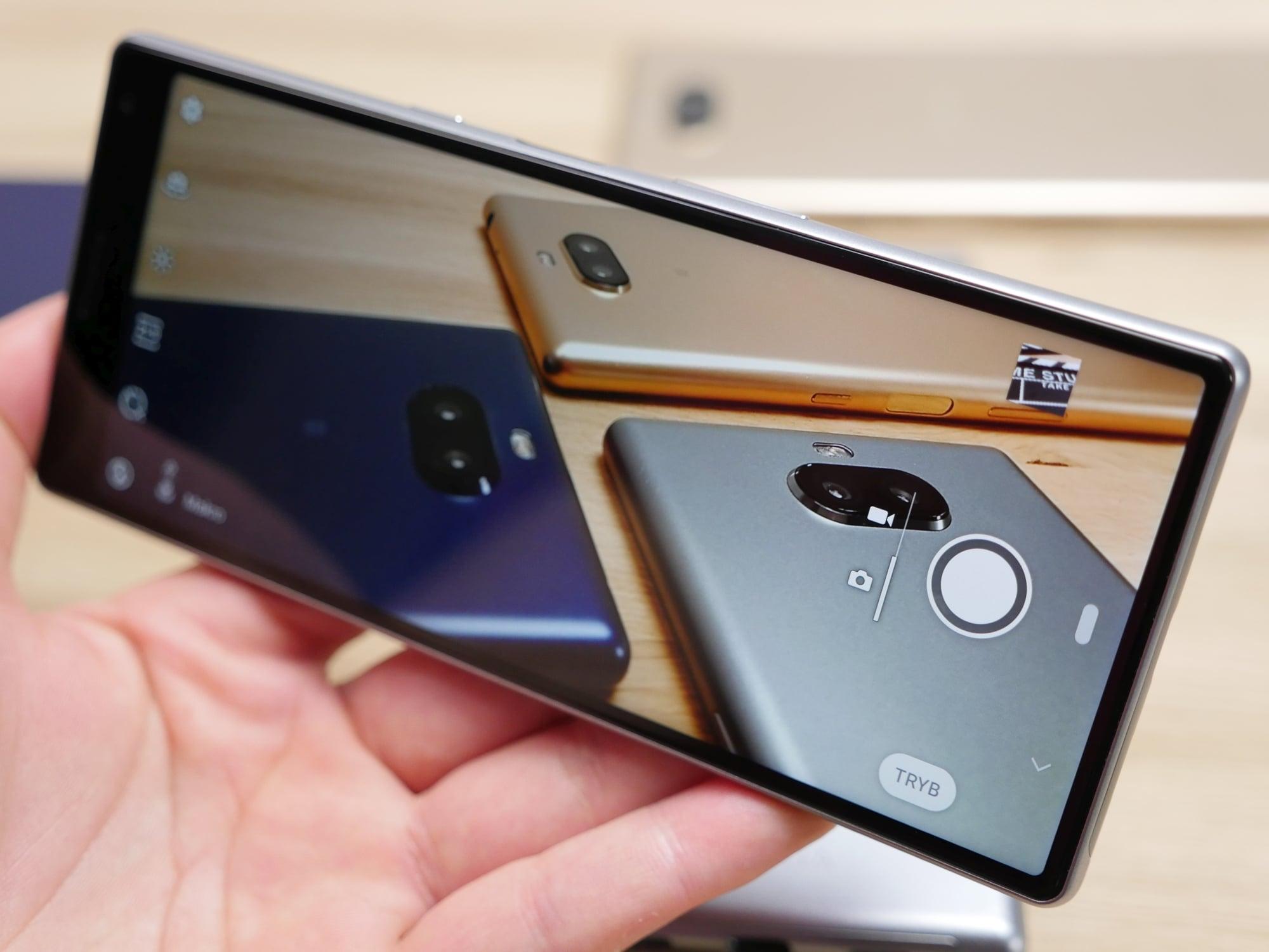 Sony stawia wszystko na kinową kartę: nowe smartfony z ekranami 21:9 21