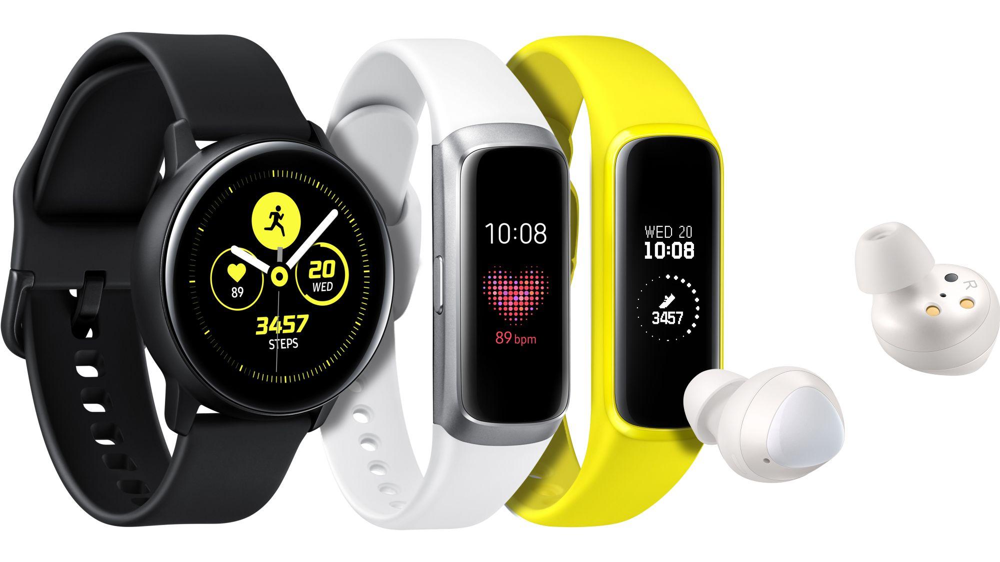 Nowe akcesoria od Samsunga: Galaxy Watch Active, Galaxy Fit, Galaxy Fit E i Galaxy Buds 21