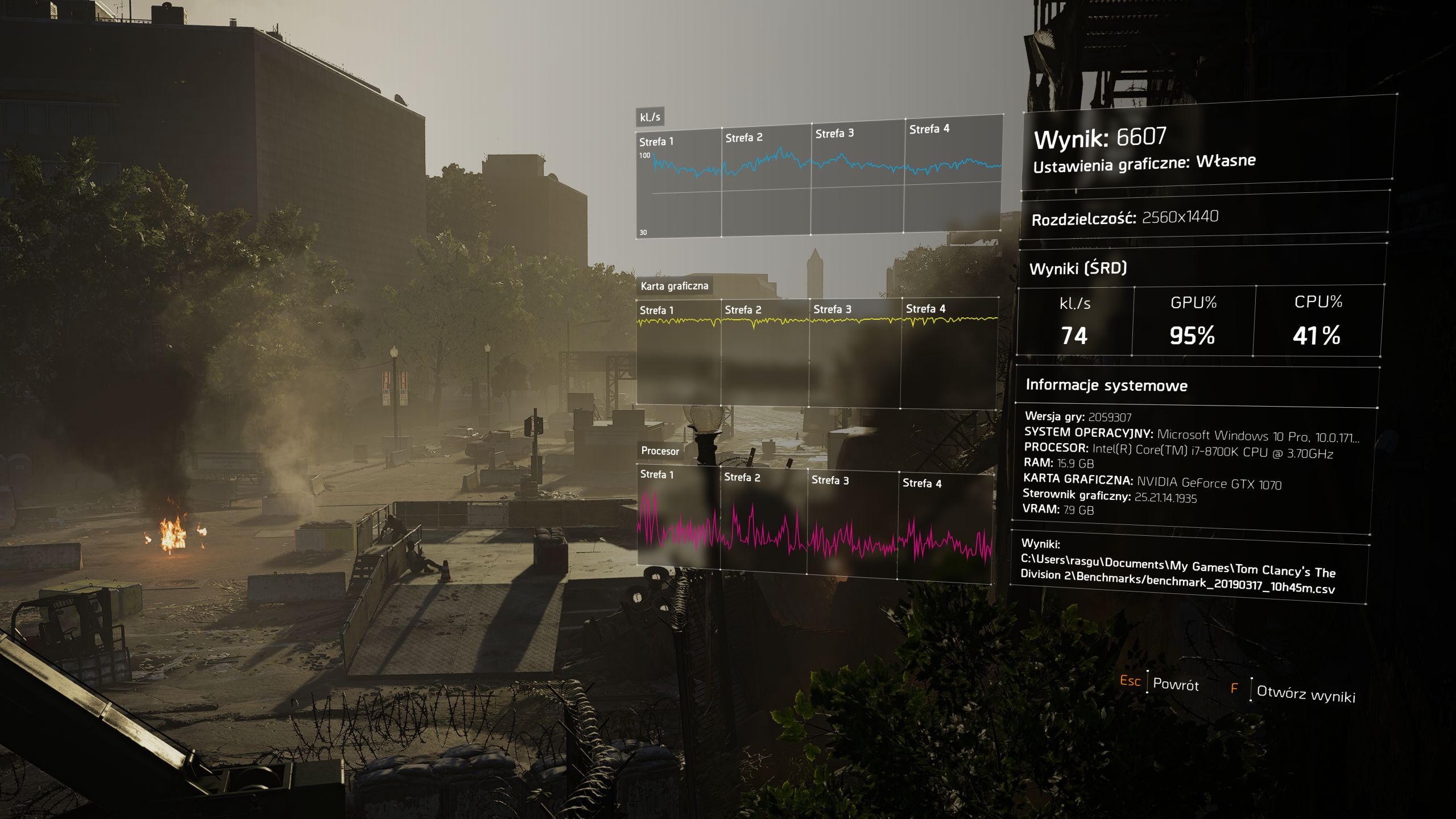 Czy potrzeba zabójczego komputera, żeby komfortowo pograć w Tom Clancy's The Division 2?