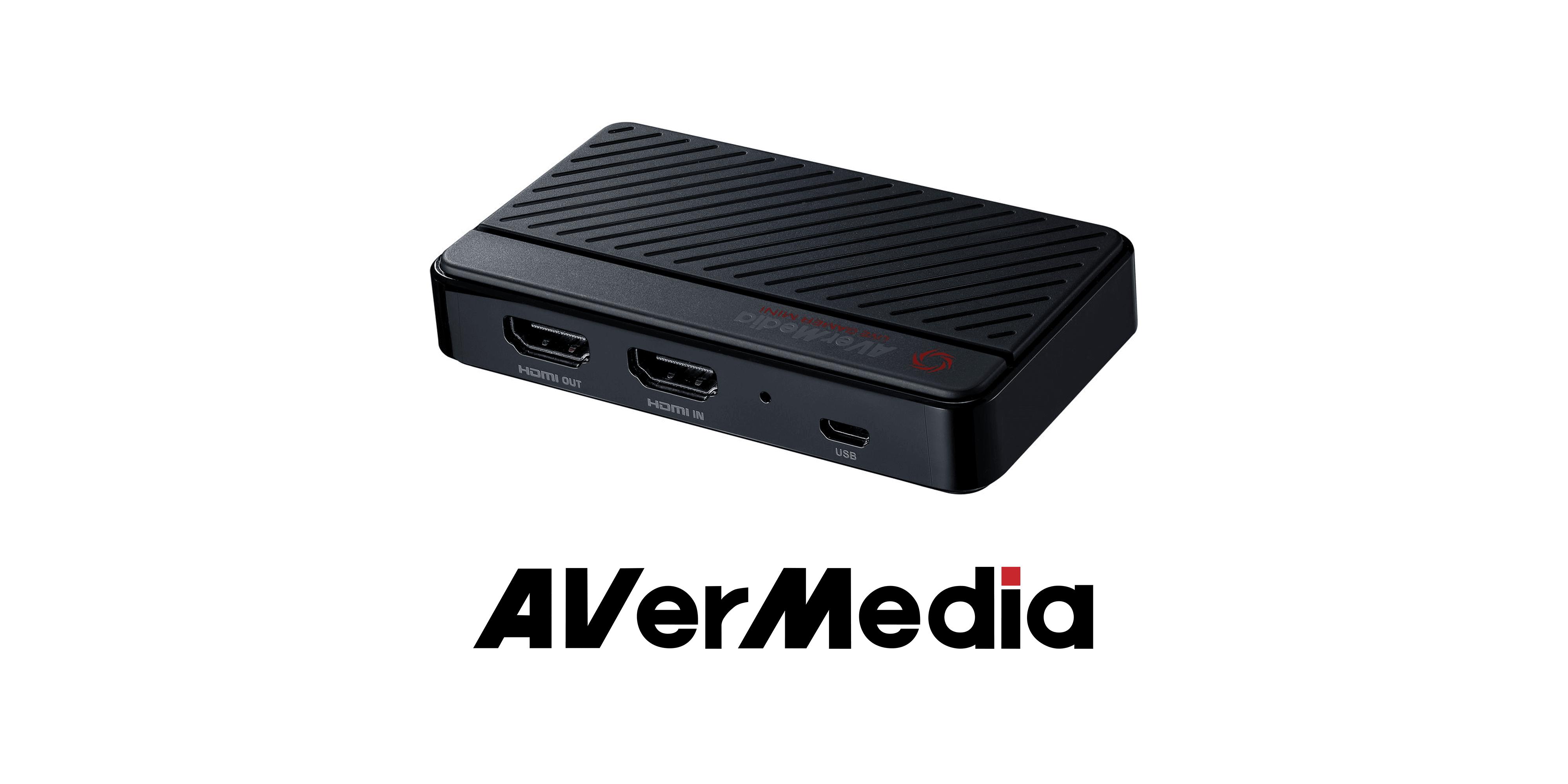 Kieszonkowy wideo grabber od AVerMedia debiutuje na rynku