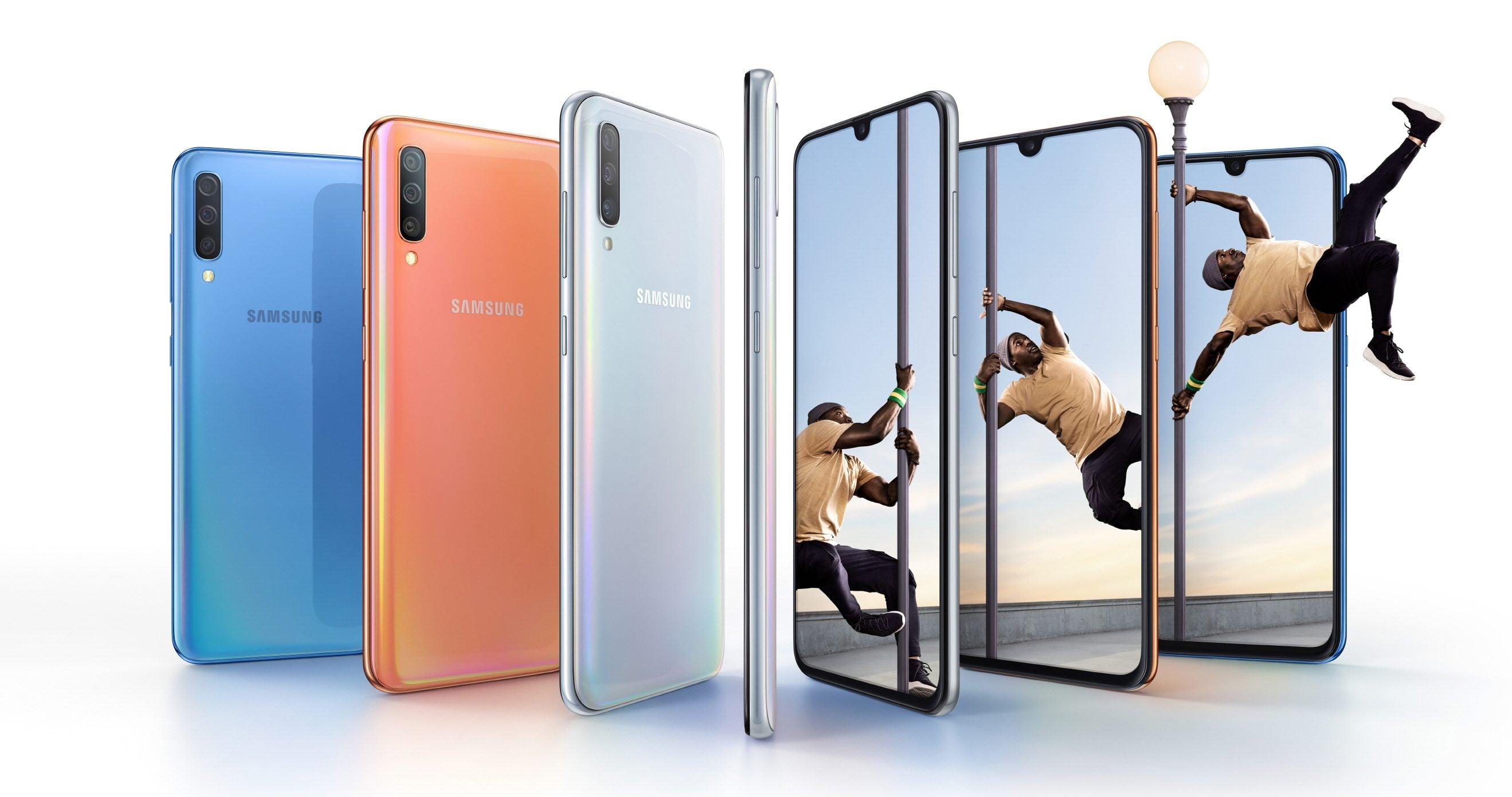 Samsung Galaxy A70 oficjalnie zaprezentowany, ale i tak wszyscy czekają na Galaxy A90 21