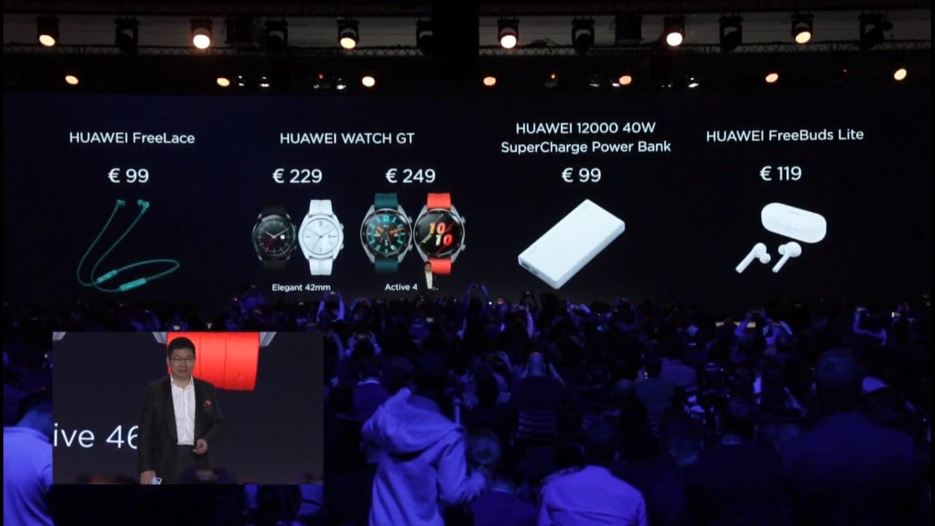 Huawei zaprezentował nowe wersje smartwatcha Huawei Watch GT oraz... inteligentne okulary
