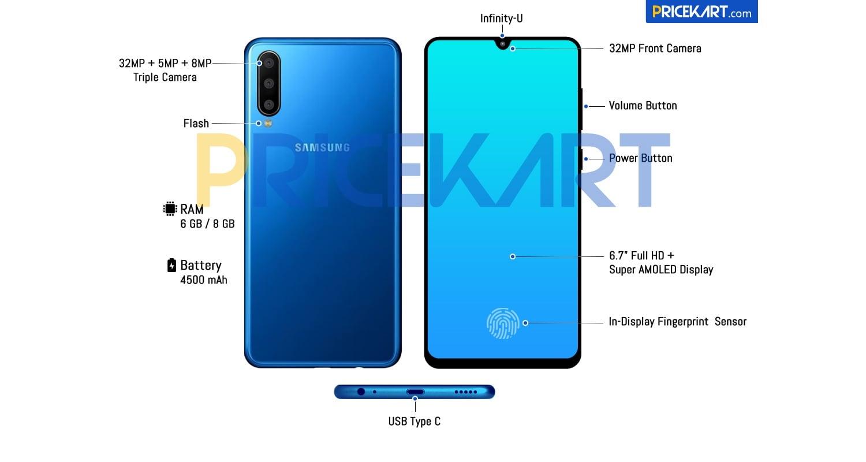 Wyciekła specyfikacja i render Samsunga Galaxy A60. To będzie prawdziwy olbrzym!