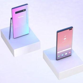 To jeszcze niepotwierdzone na 100%, ale Samsung Galaxy Note 10 faktycznie może tak wyglądać