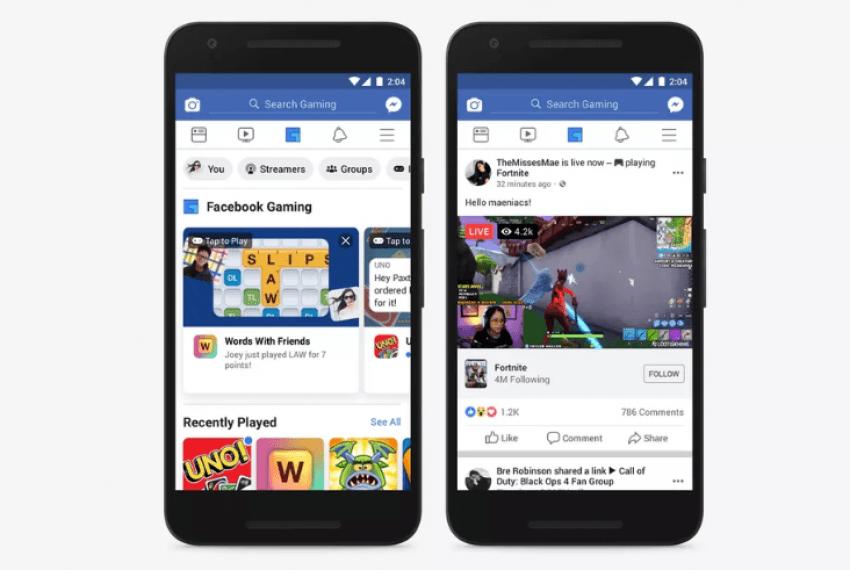 Facebook dodaje zakładkę dedykowaną graczom 19