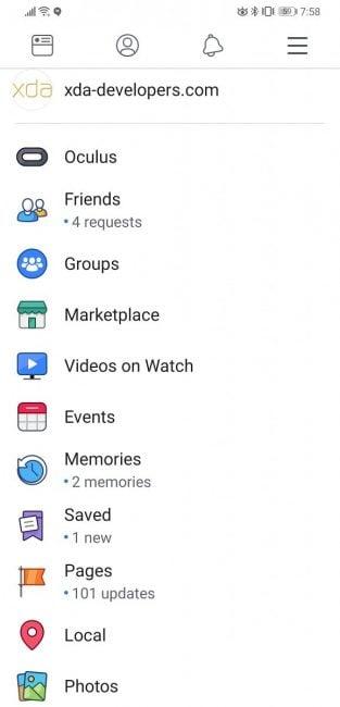 Facebook testuje nowy wygląd aplikacji na Androida