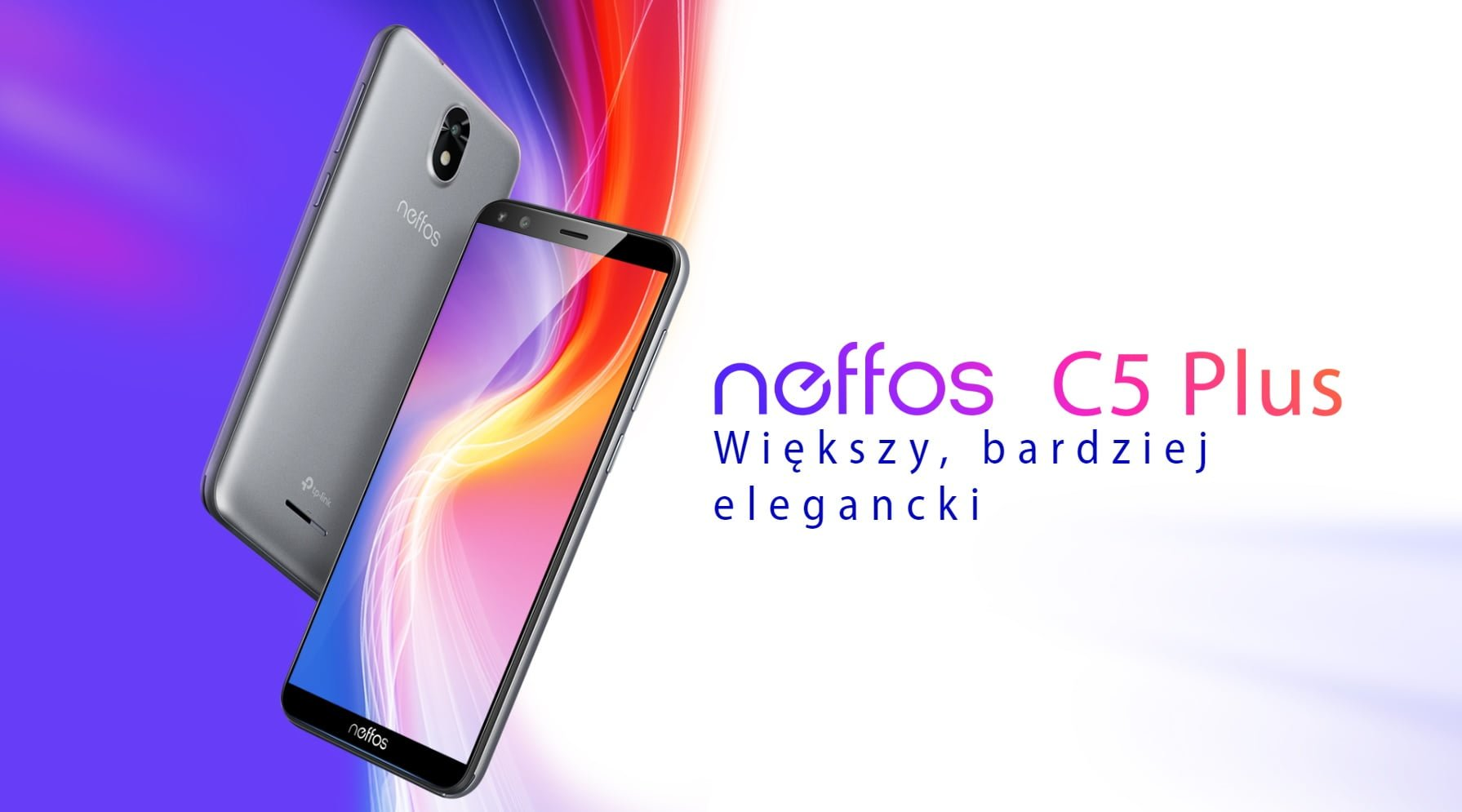 Budżetowy Neffos C5 Plus z ekranem 18:9 i Androidem Go trafił do sprzedaży w Polsce 25