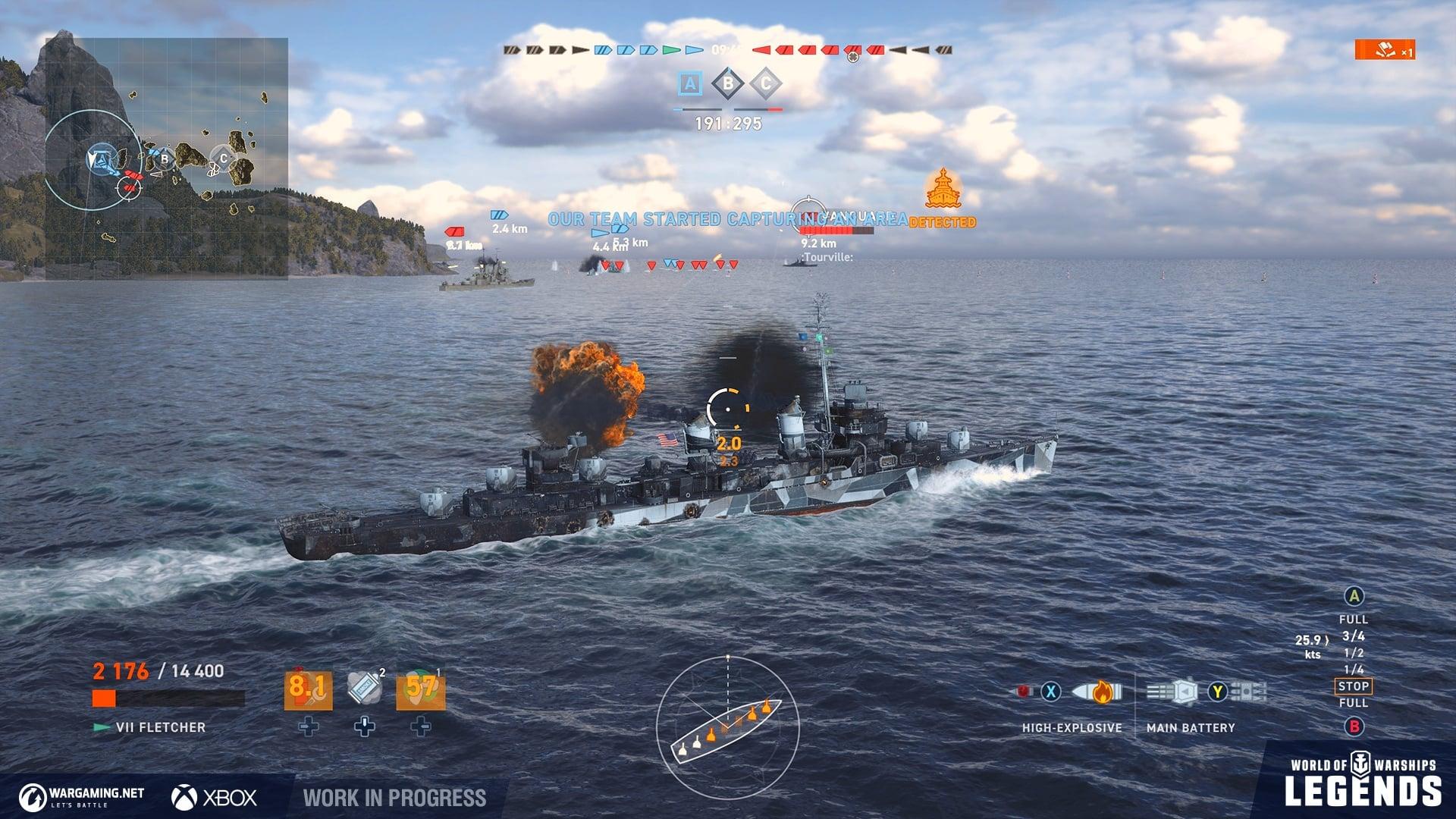 World of Warships: Legends wkrótce będzie dostępny na konsolach