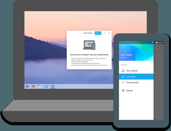 Zorin OS 15 w standardzie pozwoli na synchronizację ze smartfonem z Androidem