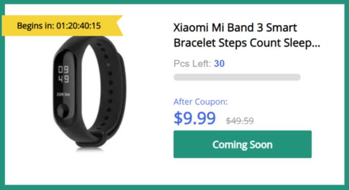 W najbliższy czwartek możecie spróbować kupić Xiaomi Mi Band 3 za 40 zł. Szykujcie się na walkę z botami 18