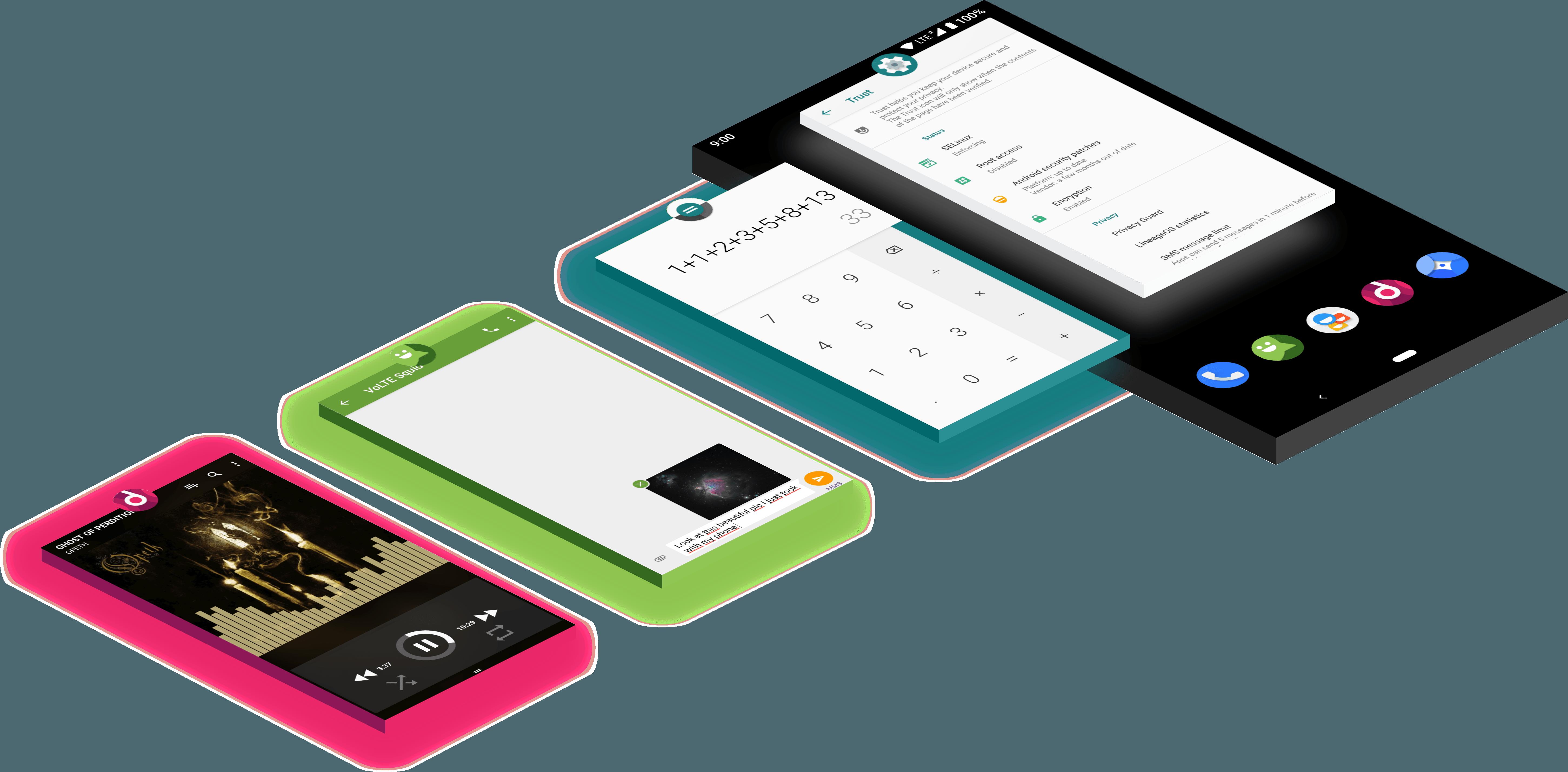 LineageOS 16 Pie oficjalnie trafia na 30 przeróżnych urządzeń