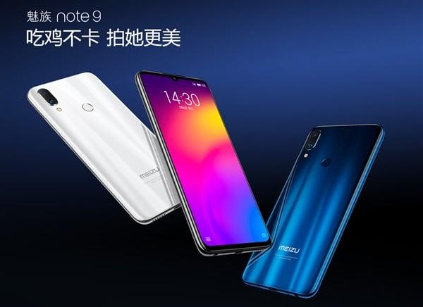 Premiera: Meizu Note 9, z aparatem 48 MPix, baterią 4000 mAh i w cenie Redmi Note 7 Pro